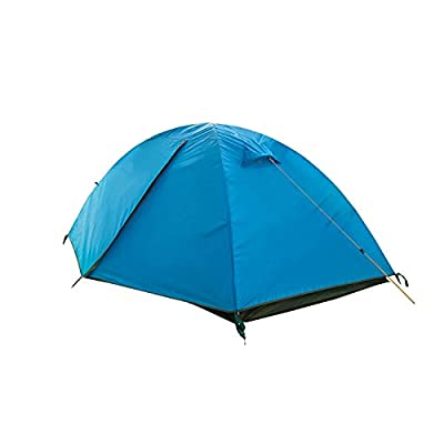 Camp Solutions 2 Person 3 Season Double Doors Lightweight Waterproof Double Layer Backpacking Tent for Camping Hiking