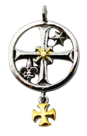 knights-templar-rochefort-seal-talisman-for-good-fortune-and-financial-acumen-pendant-amulet-kt7