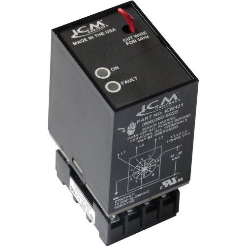 Three Phase Line Voltage Monitor - Three-phase Line Voltage Monitor, ICM431
