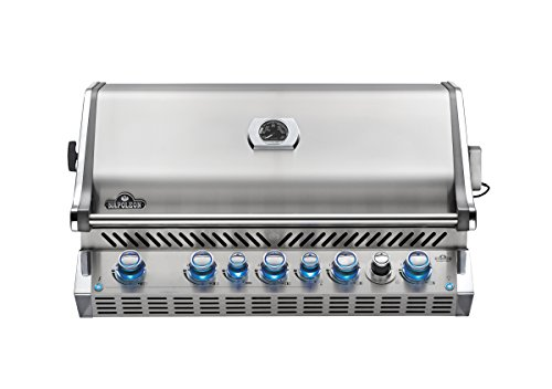 Napoleon BIPRO665RBNSS Built-In Prestige PRO Natural Gas Grill, Stainless Steel