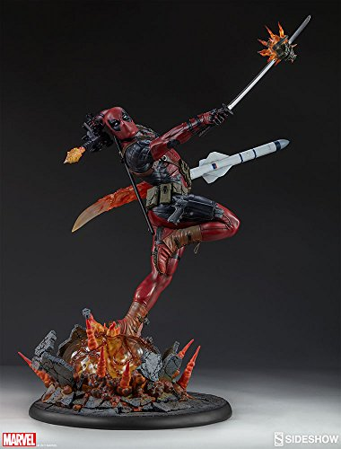 Sideshow Marvel Deadpool Heat-Seeker Premium Format Figure Statue