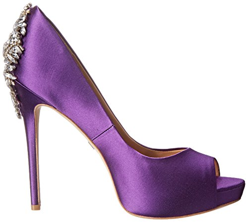 Badgley Mischka Kvinna Kiara Plattform Pump Lila