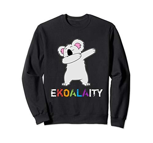Dabbing Koala Bear Gay Lesbian Pride Rainbow Ekoalaity LBGTQ Sweatshirt
