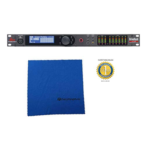 dbx DriveRack VENU360 Loudspeaker Management Processor with Microfiber and Free EverythingMusic 1 Year Extended Warranty