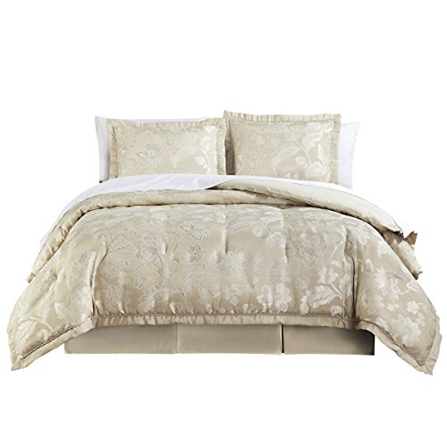 Price comparison product image Marquis By Waterford Emilia Comforter Set, Queen, Cream