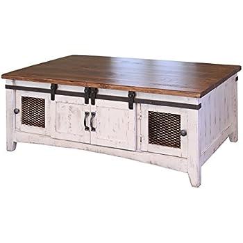 Amazon Com Ameriwood Home Farmington Coffee Table Rustic
