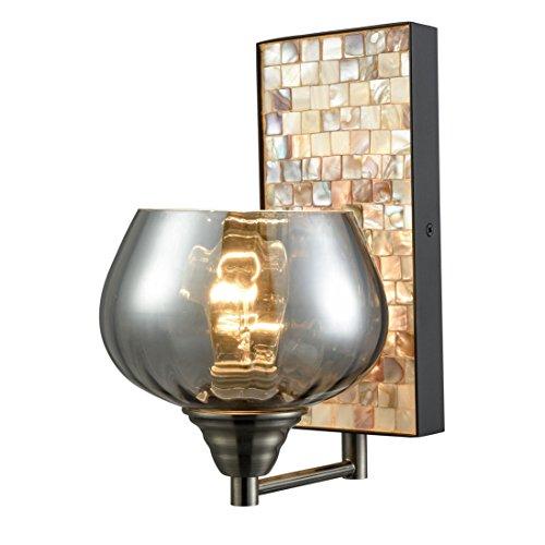 Glass Mosaic Bowl Pendant - 7