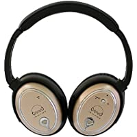 IRHYMEs Gold Noise Cancelling Headphones