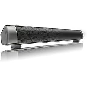 Zyoda Sound Bar Wireless Subwoofer 3.0 Bluetooth Speaker 10W Small TV Soundbar Bluetooth Receiver Stereo Super...