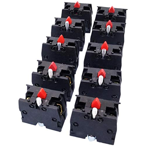 10pcs ZB2-BE102C NC Contact Block Replaces Tele Replacement for XB2 Model