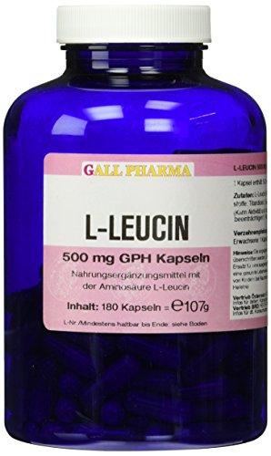 Gall Pharma L-Leucin 500 mg GPH Kapseln 180 Stück