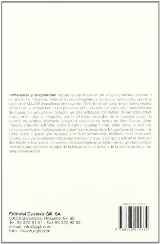 Descargar Libro Indiferencia Y Singularidad Glòria Picazo