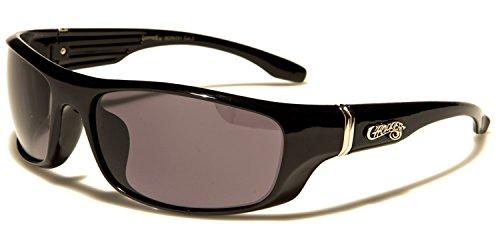 hombre SUNGLASSES Lens SDK de Gafas Black sol Black para fqwX4