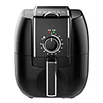 KYL Air Fryer, 3.4Qt Electric Hot Air Fryers Healthy Power Air Fryer Oven Oilless Cooker for Air Frying, Roasting and Reheating, 1450W