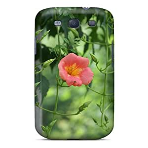 Galaxy S3 Case Slim [ultra Fit] Climbing Flowers Protective Case Cover