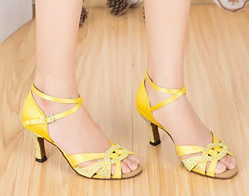 Meijili - salón mujer L139 Yellow