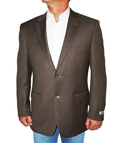 - Jones New York Men's Jacket Two Button Mini Check Wool Sport Coat (36S)