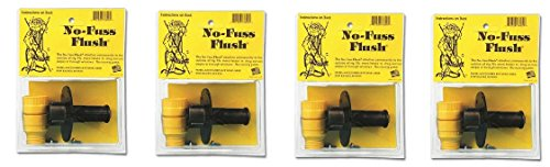 Valterra Products, Inc. A-70 No Fuss Flush with Check Valve - Flush Fuss