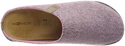 Rohde De 44 rose Casa Para Estar Por Zapatillas Mira Pink Mujer OrqxvOR