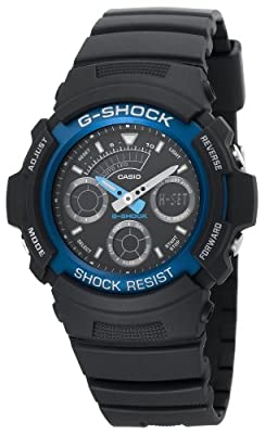 Casio Men's AW591-2A G-Shock Ana-Digi Chronograph Shock Resistant Sport Watch