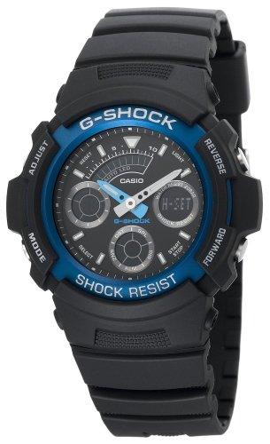Casio Men's AW591-2A G-Shock Ana-Digi Chronograph Shock Resistant Sport (G-shock Ana Digi)