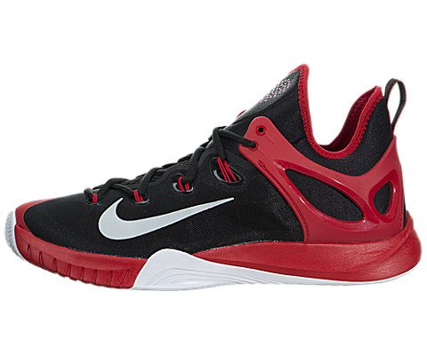 buy online dddf6 8f431 Galleon - Nike Zoom Hyperrev 2015 Men s Basketball Shoes 705370-006 Size  10.5 D (Standard Width) Black Pure Platinum University Red White
