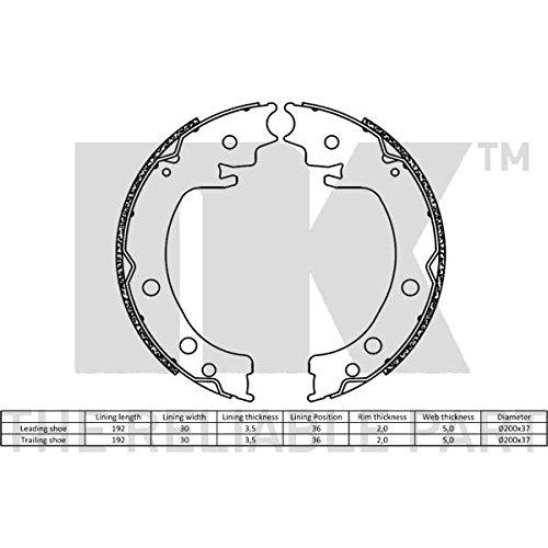 NK 2752850 Bremsbacken & Zubehör