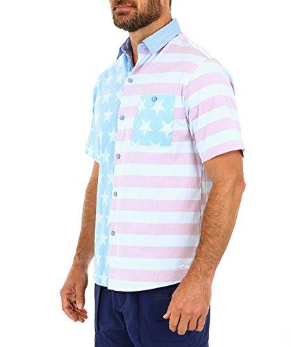 Smooffly Mens Surfer Casual Crew-Neck Short Sleeve Tee Shirt