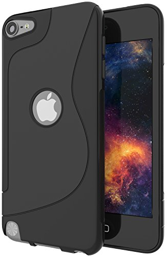 iPod Touch 5th Generation Case,iPod Touch 6th Generation Case,ANLI Ultra [Slim Thin] Scratch Resistant TPU Rubber Soft Skin Silicone Protective Cases Cover For Apple iPod Touch 5 / 6 (Ipod Touch Skin Cases)