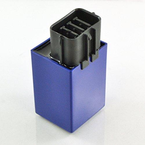 Oem Relay (Fuel Pump Waterproof Relay 15A x2 For Honda TRX 420 Rancher 680 Rincon 700 XX 500 Fourtrax Foreman 2007 2008 2009 2010 2011 2012 2013 2014 2015 2016 2017 2018 OEM Repl.# 38580-HP5-601 38580-HP5-600)