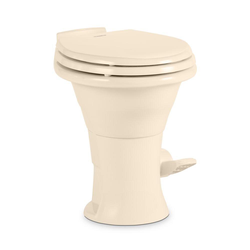 Bone Slow Close Wood Seat Dometic 310 Series Low Profile Toilet 14 Height 302311633