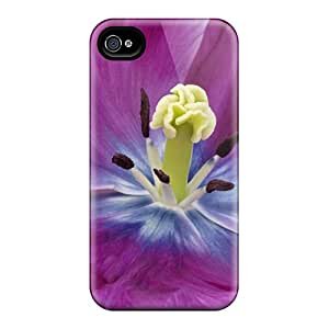 Iphone 4/4s Cases Covers Skin : Premium High Quality Glorious Purple Cases