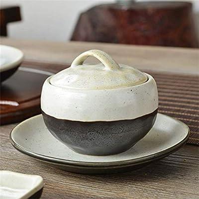 Sopa de cerámica pequeña Fideos Plato de Pasta con Tapa ...