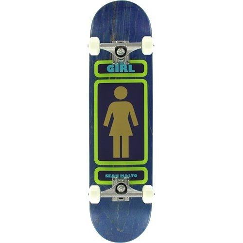 Girl Malto 93 Till Infinity Complete Skateboard -7.8 Navy