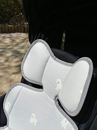 Momnoko 3D Air Mesh Cool Liner for Stroller & Car Seat (Puppy Pattern) by Momnoko (Image #5)