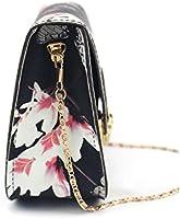 AM/_ Women Floral Butterfly Print Chain Bag Shoulder Crossbody Purse Handbag Fash