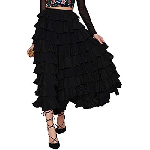 Long Layered Skirt