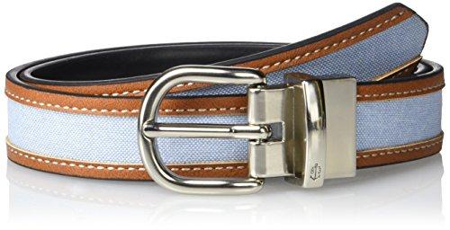 Nautica Boys Reversible Fabric Belt