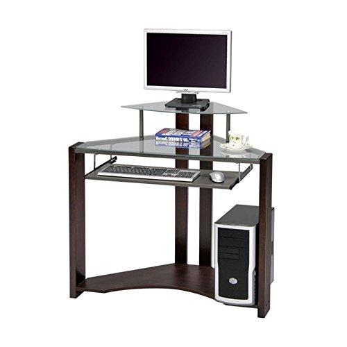 ACME Wilcox Computer Desk, Cherry Finish (Cherry Desk Rustic)