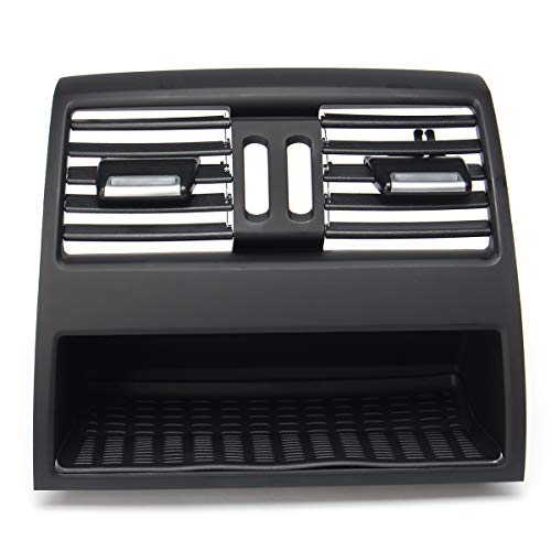 Bingo Point Plastic Car Rear Center Console Flow in Fresh Air Outlet Vent Grille Cover Air Conditioner Vent Protective for BMW 5 F10 F11