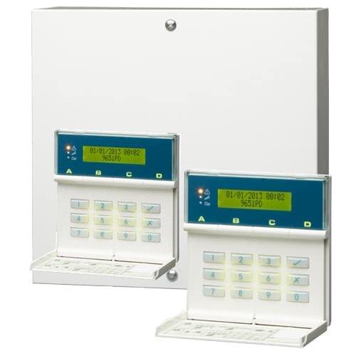 Scantronic 9651EN41 Panel de alarma de 8 zonas con 2 ...