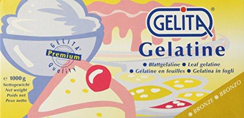 Leaf Gelatine Sheets - Bronze - 2.2 lb box Gelita by Gelita (Image #1)
