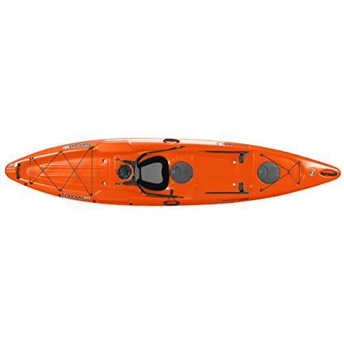 Wilderness Systems 9750255113 Tarpon 120 Ultralite Kayaks, Tangelo, 12'