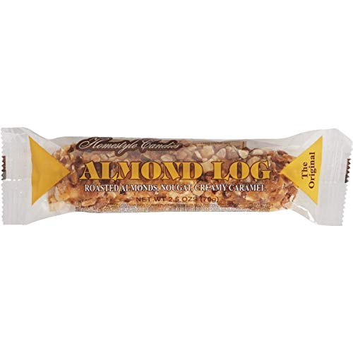 - Crown Nut Log Candy Bar - 120100, Pack of 12