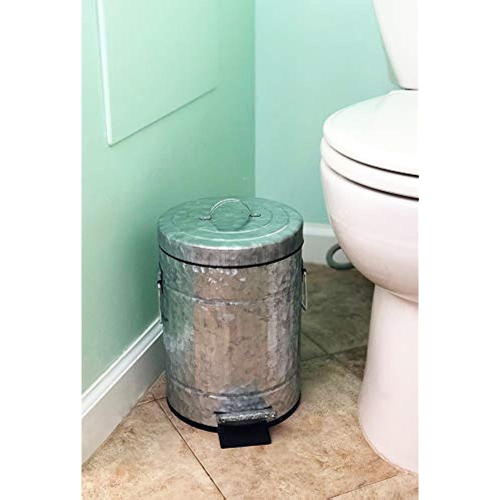 Autumn Alley Black Trash CanSmall Bathroom Trash CanFarmhouse Style