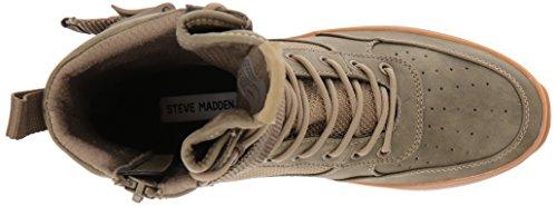 Steve Madden Mens Zeroday Sneaker Oliva