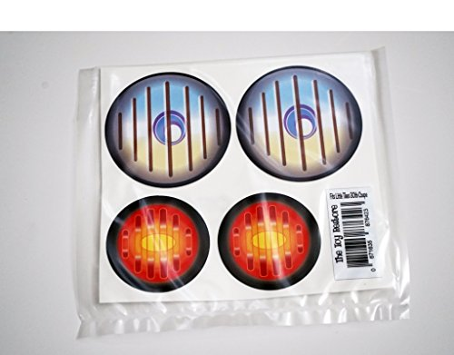 Replacement Decals Stickers Fits Little Tikes 30th Anniversary Cozy Coupe Car toy Tail lights and headlights - Toy Headlight