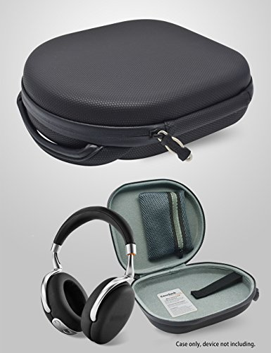 Parrot Zik 1.0, 2.0, 3 Headphone Carrying Case/ Travel bag for Harman Kardon CL Precision, BeoPlay H2, H6, H8, Bose QC35, QC25, QC3, QC2, QC15, AE2w, AE2i, AE2, SoundTrue (Black PU Bubble Pattern)