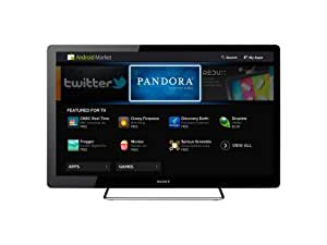 Sony NSX-40GT1 40-Inch 1080p 60 Hz LED HDTV Featuring Google TV, Black (2010 Model)