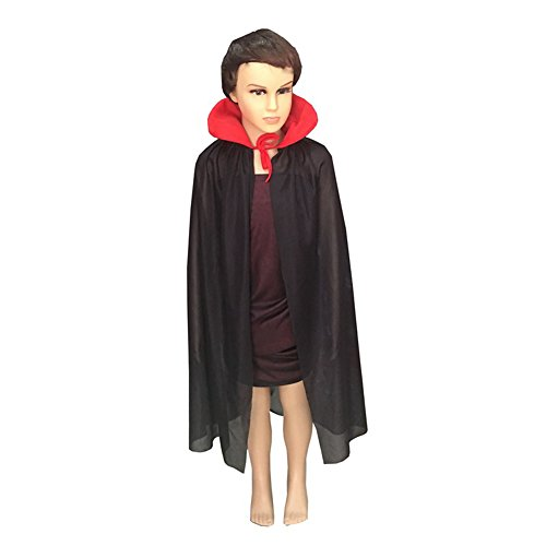 Top Dog Halloween Costumes 2016 (Vimans Halloween Role Play Costumes for Children Black Hooded Cosplay Cloaks, S)